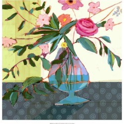 Art Print: Fanciful Flowers II by Victoria Borges: 20x20in found on Bargain Bro Philippines from Art.com for $20.00