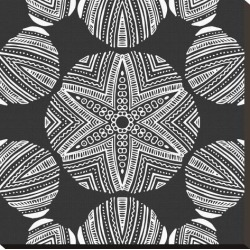 Stretched Canvas Print: Kaleidoscope Duo III by Sabine Berg: 24x24in found on Bargain Bro India from Art.com for $85.00