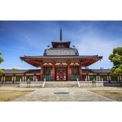 Photographic Print: Osaka, Japan at Shitennoji Temple. by SeanPavonePhoto: 24x16in
