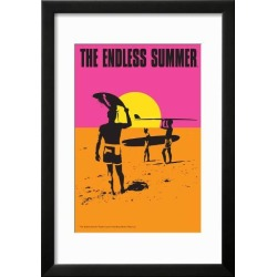 Framed Art Print: The Endless Summer - Original Movie Poster: 26x18in found on Bargain Bro Philippines from Art.com for $60.00