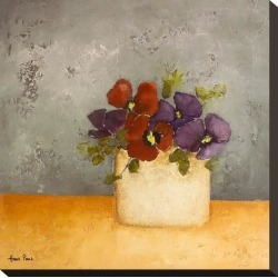 Stretched Canvas Print: Violet 2 by Hans Paus: 16x16in found on Bargain Bro from Art.com for USD $31.92