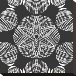 Stretched Canvas Print: Kaleidoscope Duo III by Sabine Berg: 12x12in found on Bargain Bro India from Art.com for $59.00