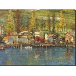 Stretched Canvas Print: Champlain by Longo: 36x48in found on Bargain Bro Philippines from Art.com for $340.00