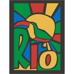 Art Print: Vector Illustration Rio Poster by trentemoller: 24x18in