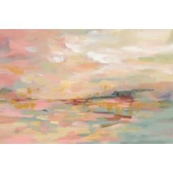 Art Print: Pink Waves by Silvia Vassileva: 24x16in
