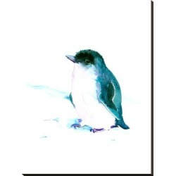 Stretched Canvas Print: Baby Penguin 3 by Suren Nersisyan: 40x30in found on Bargain Bro India from Art.com for $140.00