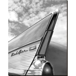 Stretched Canvas Print: '57 Fin by Richard James: 49x38in found on Bargain Bro Philippines from Art.com for $175.00