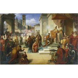 Giclee Print: Italy by Francesco Coghetti: 24x16in found on Bargain Bro India from Art.com for $25.00