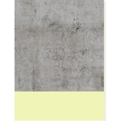 Stretched Canvas Print: Yellow On Concrete by Emanuela Carratoni: 32x24in