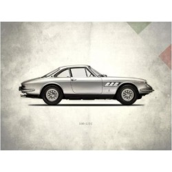 Giclee Print: Ferrari 330GTC 1968 by Mark Rogan: 28x36in found on Bargain Bro India from Art.com for $50.00