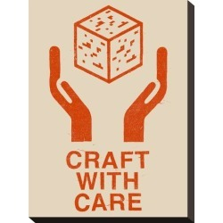 Stretched Canvas Print: Craft With Care 1 by Florent Bodart: 15x11in found on Bargain Bro from Art.com for USD $28.88