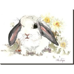 Stretched Canvas Print: Bunny 7 by Suren Nersisyan: 30x40in found on Bargain Bro from Art.com for USD $106.40