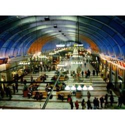 Photographic Print: Interior of Stockholm Central Train Station, Stockholm, Sweden by Martin Lladó : 24x18in