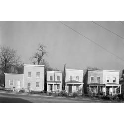 Photographic Print: Frame houses in Fredericksburg, Virginia, 1936 by Walker Evans: 24x16in