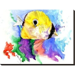 Stretched Canvas Print: Coral Reef Fish 2 by Suren Nersisyan: 18x24in found on Bargain Bro from Art.com for USD $76.00