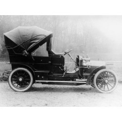 Photographic Print: Mercedes Car, (C1900s) : 24x18in found on Bargain Bro Philippines from Art.com for $25.00
