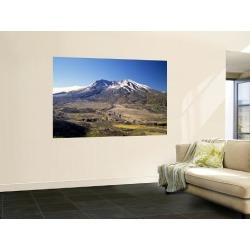 Wall Mural: Mt. St. Helens Wall Decal by Bernard Friel: 72x48in