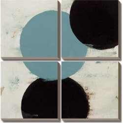 Canvas Art Set: Terra Circles III by David Skinner: 30x30in found on Bargain Bro India from Art.com for $218.00