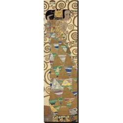 Stretched Canvas Print: Expectation, Stoclet Frieze, c.1909 (detail) by Gustav Klimt: 41x12in found on Bargain Bro Philippines from Art.com for $115.00