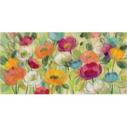 Art Print: Chartreuse Garden by Silvia Vassileva: 24x16in