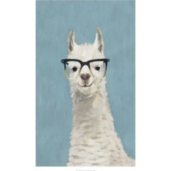 Art Print: Llama Specs II by Victoria Borges: 32x20in found on Bargain Bro Philippines from Art.com for $30.00