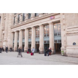 Photographic Print: Gare Du Nord Railway Station in Paris, France, Europe by Julian Elliott: 24x16in