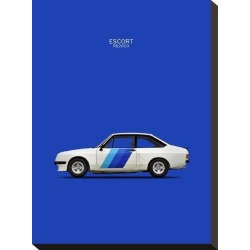 Stretched Canvas Print: Ford Escort RS2000 1978 by Mark Rogan: 16x12in found on Bargain Bro India from Art.com for $38.00