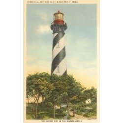 Art Print: Anastasia Lighthouse, St. Augustine, Florida: 16x12in found on Bargain Bro Philippines from Art.com for $15.00