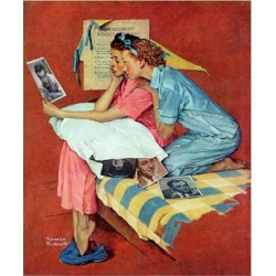 """Giclee Print: """"Movie Star"""", February 19,1938 Art Print by Norman Rockwell by Norman Rockwell: 16x12in"""