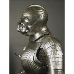 Giclee Print: Horseman's Armor in Steel, Made in Nuremberg or Augsburg, 1510-1515, Germany, 16th Century: 24x18in