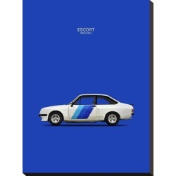 Stretched Canvas Print: Ford Escort RS2000 1978 by Mark Rogan: 24x18in found on Bargain Bro India from Art.com for $59.00