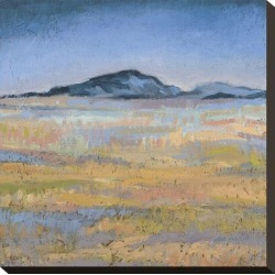 Stretched Canvas Print: Field in Magical Light by Jeannie Sellmer: 16x16in found on Bargain Bro India from Art.com for $95.00