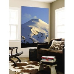 Wall Mural: Volcán Villarrica, Lake District Wall Sticker by Paul Kennedy: 72x48in