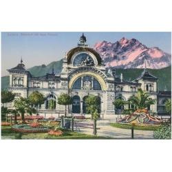 Art Print: Train Station, Lucerne, Switzerland Poster: 24x18in