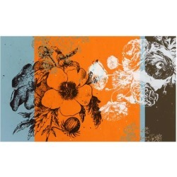 Premium Giclee Print: Floral Sections Art Print by JB Hall by JB Hall: 24x18in