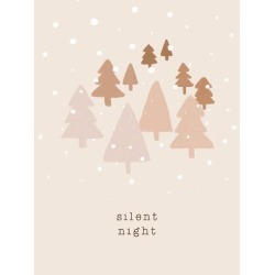 Stretched Canvas Print: Holiday Charm - Silent by Dana Shek: 48x36in found on Bargain Bro India from Art.com for $380.00