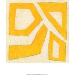 Art Print: Spectrum Hieroglyph VIII by June Vess: 19x13in found on Bargain Bro from Art.com for USD $15.20