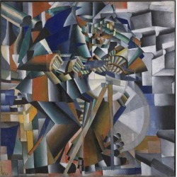 Giclee Print: The Knife Grinder or Principle of Glittering, 1912-3 by Kazimir Severinovich Malevich: 16x16in