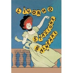 Art Print: Livorno - Seaside Season Poster by Leonetto Cappiello: 24x18in
