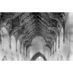 Photographic Print: Vaulted Roof, St. Agnes Church, Cawston by Frederick Henry Evans: 24x16in