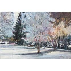 Art Print: Winter Alive by Eduard Gurevich: 11x14in