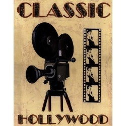 Art Print: Classic Hollywood by Catherine Jones: 14x11in found on Bargain Bro from Art.com for USD $15.20