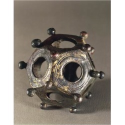 Giclee Print: Bronze Dodecahedron, Perhaps Used for Mathematics, Gallo-Roman Civilization, 4th-2nd Century BC: 24x18in