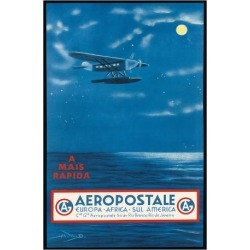 Giclee Print: Europe, Africa, South America, Rio de Janeiro, Brazil - Aeropostale CGA by A.W.D. : 44x30in found on Bargain Bro India from Art.com for $70.00