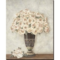 Stretched Canvas Print: Spring Blossoms by Jennette Brice: 50x40in found on Bargain Bro Philippines from Art.com for $175.00