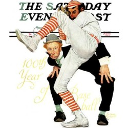 Giclee Print: 1930's Saturday Evening Post Wall Art by Norman Rockwell by Norman Rockwell: 16x12in