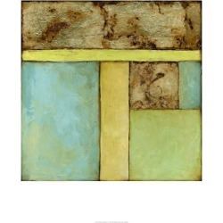 Limited Edition: Stained Glass Window IV by Jennifer Goldberger: 36x36in