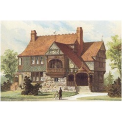 Art Print: Victorian House, No. 15: 18x24in
