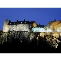 Photographic Print: Poster of Stirling Castle, Stirling by Patrick Dieudonne: 24x18in