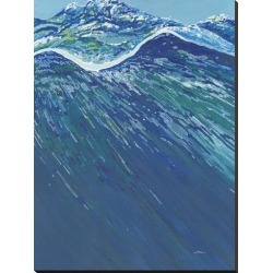 Stretched Canvas Print: Hampton's Peak by Margaret Juul: 48x36in found on Bargain Bro Philippines from Art.com for $175.00